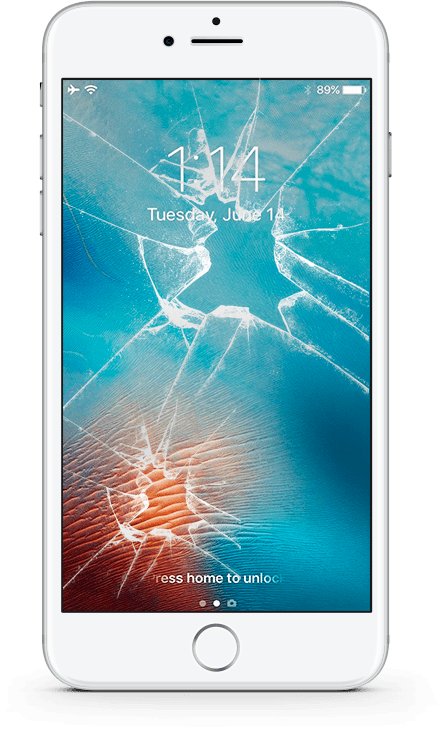 Разбил экран iPhone